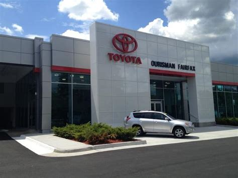 Toyota Dealerships In Virginia Ourisman Fairfax Toyota Car Dealership In Fairfax Va