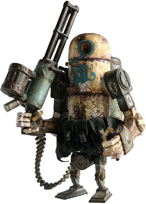 Threea 3a Severed Robot 12 powder bertie mk 2 by wood from threea trt library