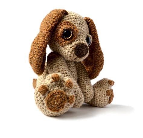 crochet puppy amigurumi puppy moss crochet pattern by patchwork moose crochet patterns