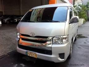 Toyota Hiace Philippines Used Toyota Hiace Gl Grandia 2016 Hiace Gl Grandia For