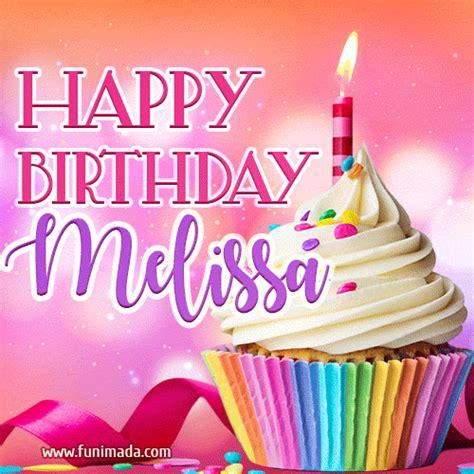 happy birthday melissa lovely animated gif   funimadacom