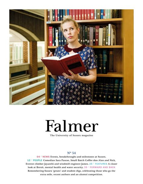 5 Year Mba Gain Meaning by Falmer No 54 By Of Sussex Alumni Network Issuu