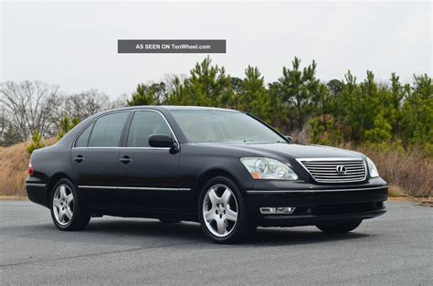 lexus ls 2005 2005 lexus ls 430 information and photos zombiedrive