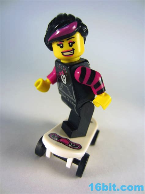 Lego Minifigure 8827 Series 6 Skater 16bit figure of the day review lego minifigures