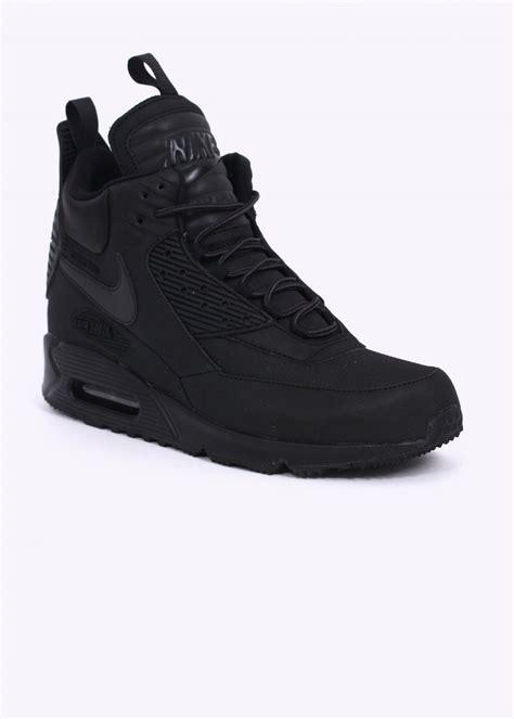 air max 90 sneaker boot nike air max 90 sneakerboot wntr black black