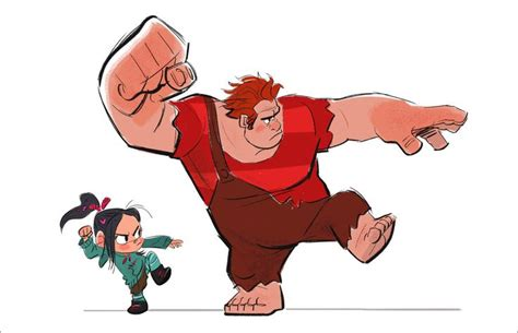 Kaos Animation 09 Wretch It Ralph Visual Development For Disney S Quot Wreck It Ralph Quot By
