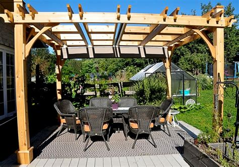 retractable canopy pergola pergola with retractable canopy 10x12 covered outdoor
