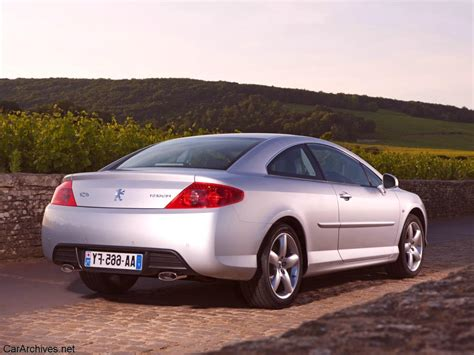 peugeot 407 coupe 2010 peugeot 407 coupe pictures information and specs