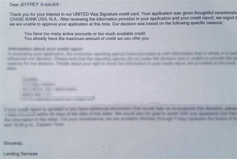 Credit Card Appeal Letter United Explorer Visa Reconsideration Request Jeffsetter