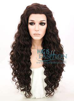 Wig Panjang Wavy 236 usa ombre silver gray thin lace front skin top heat ok