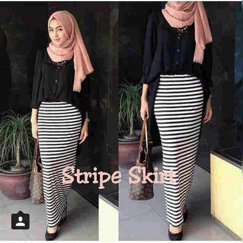 Pakaian Cewek Terbaru Harajuku Blouse Murah pakaian muslim wanita quot setelan skine skirt quot cantik