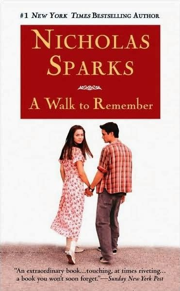 remember books a walk to remember