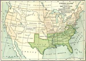 us map in civil war maps united states map civil war