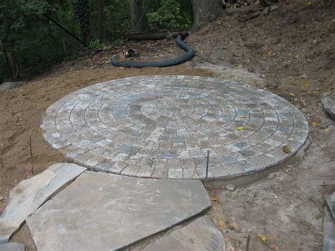circle paver patterns kits and starts steve snedeker s