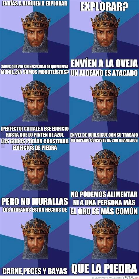 Age Of Empire Meme - vrutal compilaci 243 n de memes de age of empires