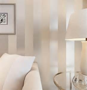 home accents wall:  wall wallpaper white and silver classic stripe wall papers home decor