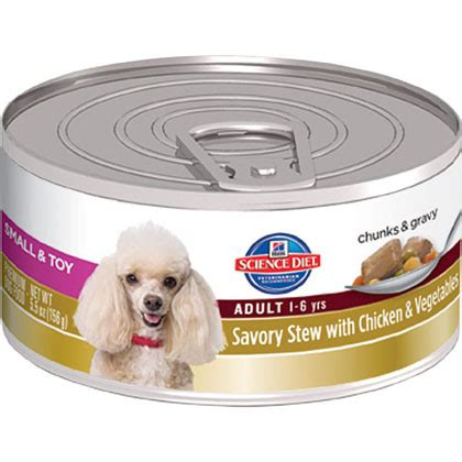 science diet canned food hill s science diet small breed savory stew canned food 1800petmeds