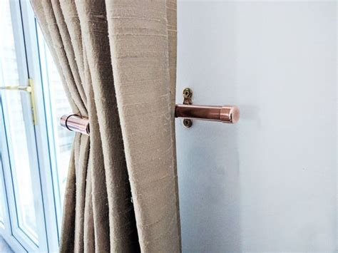how to steam drapes pure copper curtain tie backs industrial modern steam punk