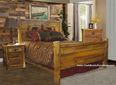 rustic wood bedroom furniture bradley s furniture etc utah rustic bedroom furniture