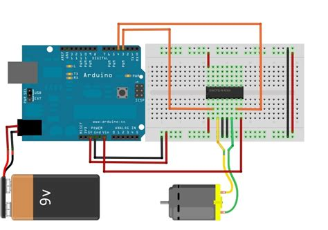 arduino code for dc motor how to drive dc motor using l293d with arduino community