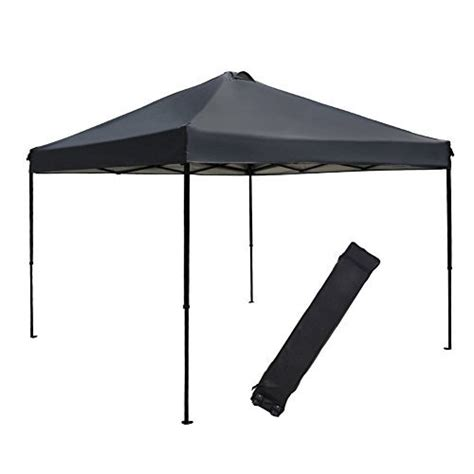 Outdoor Folding Canopy Abba Patio 10 X 10 Ft Outdoor Pop Up Portable Shade
