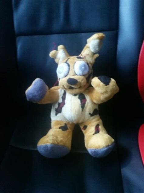 springtrap plush my springtrap plush a one of a plush made by