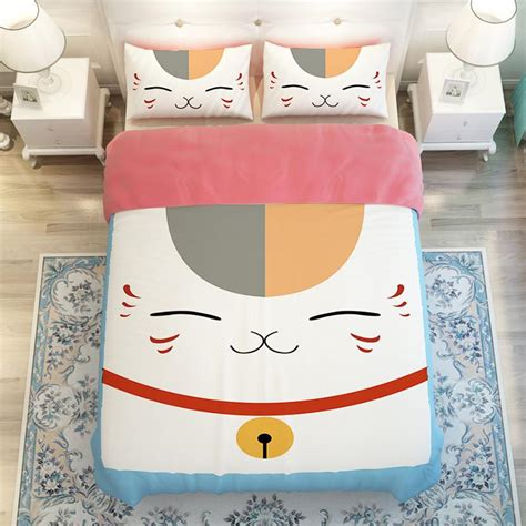 kawaii bed cute kawaii cat sheet bedding bed 4 pieces se7683 www