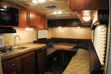 Rv Trailer Interior by Travel Lite To Debut Travel Trailer Redesigned Truck