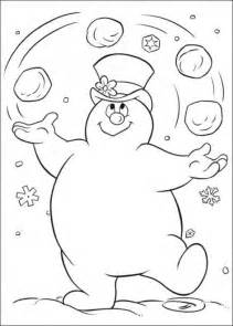 Frosty The Snowman Printable Coloring Pages free printable frosty the snowman coloring pages best