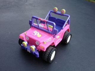 barbie jeep 1990s mattel barbie funrider jeep classic barbie 1990 new