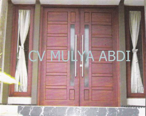 desain kusen jendela dan pintu minimalis kusen pintu minimalis 13 kusenpintujendelakayu com kusen