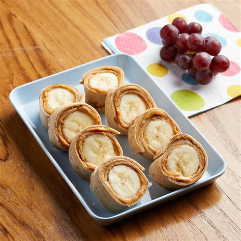 Sunflower Kitchen Ideas Peanut Butter Banana Roll Ups Recipe Eatingwell