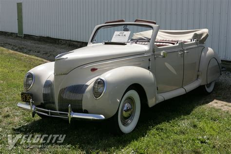 1939 lincoln zephyr picture of 1939 lincoln zephyr 4dr convertible
