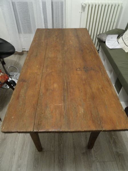 table en bois vintage table de ferme ancienne clasf