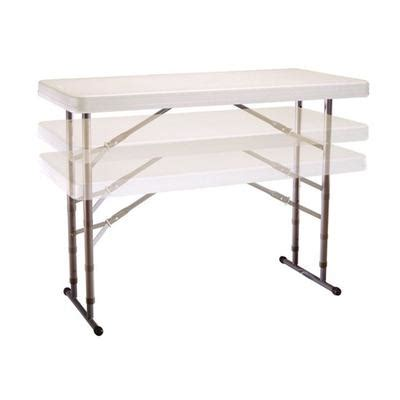 Folding Tables Home Depot by Lifetime Products Adjustable Height Folding Table 4