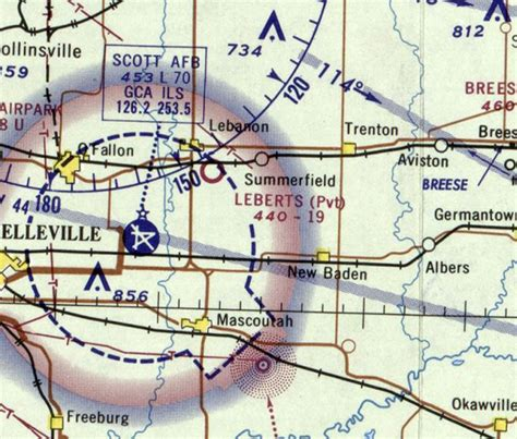 cincinnati sectional chart abandoned little known airfields southwestern illinois