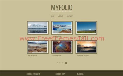 templates blogger portfolio jquery portfolio blogger theme download