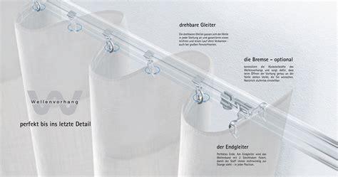 vorhang nahen gleiter vorh 228 nge selber n 228 hen mit gleiter home image ideen