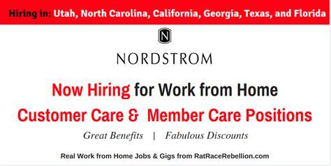 nordstroms now hiring in utah carolina