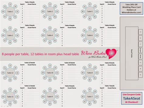 table number template free download free download printable wedding