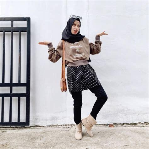 model busana santai trendy model busana hijab modis terbaru model busana