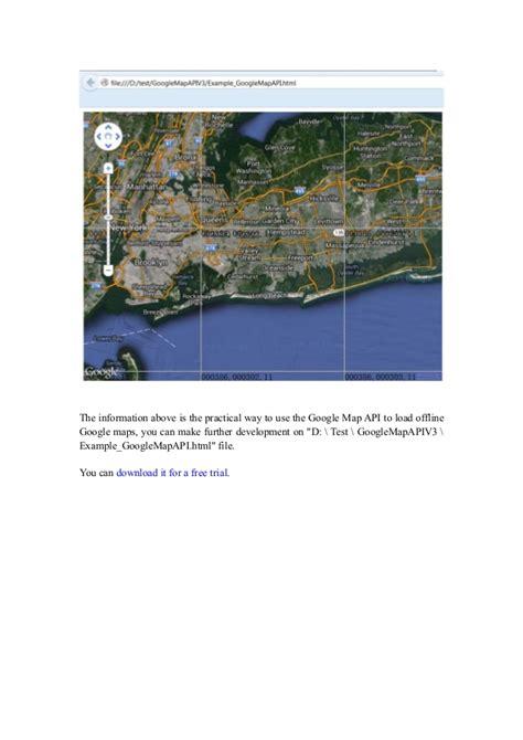 maps api usage how to use the offline map api to load offline