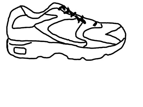 Shoe Outline Template Cliparts Co » Simple Home Design