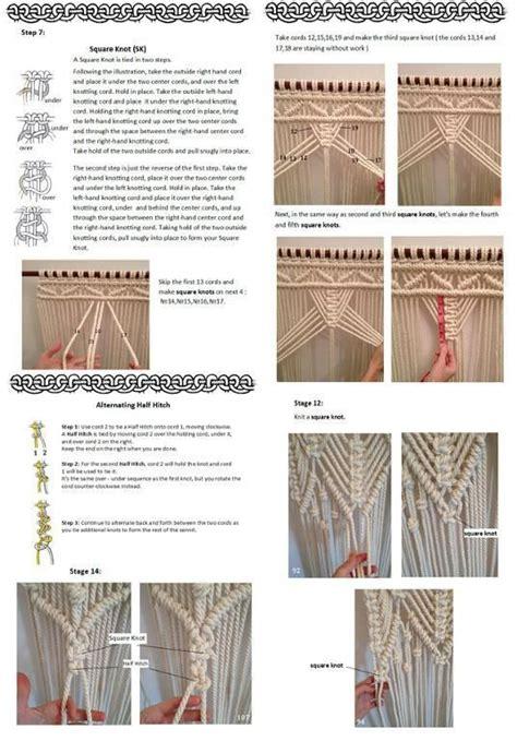 Macrame Pdf - best 25 macrame curtain ideas on hanging door