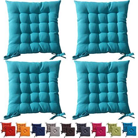 cuscini da esterno set di 4 cuscini da sedia trapuntati cuscini da esterno
