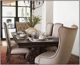 Design For Wingback Dining Room Chairs Ideas Tufted Dining Chair With Nailhead Trim Chairs Home Decorating Ideas 9bwlwp0d2n