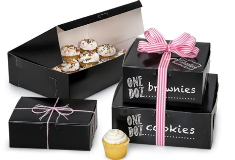 Home Design Addition Ideas by New 100 Recycled Black Bakery Boxes Are A Classic