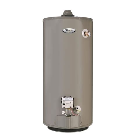 Gas Water Heater Blue Gas whirlpool b4671 40 gal gas water heater gas