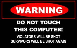 Computer Desktop Signpost Funny Warning Signs 20 Desktop Wallpaper Funnypicture Org
