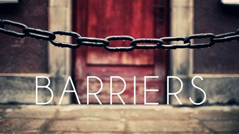 knowingly hd barriers against god flowing faith